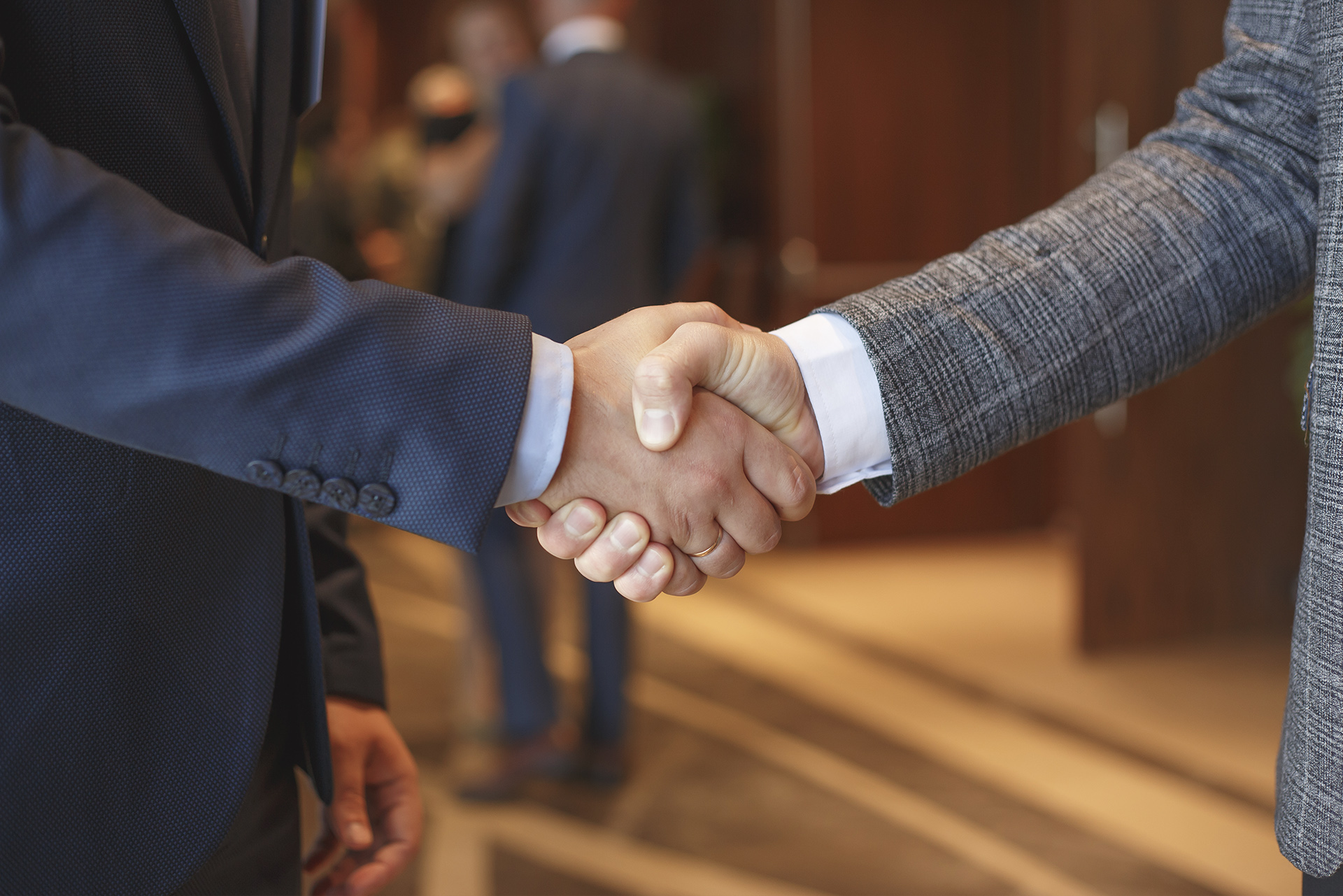 handshake after fair dispute resolution