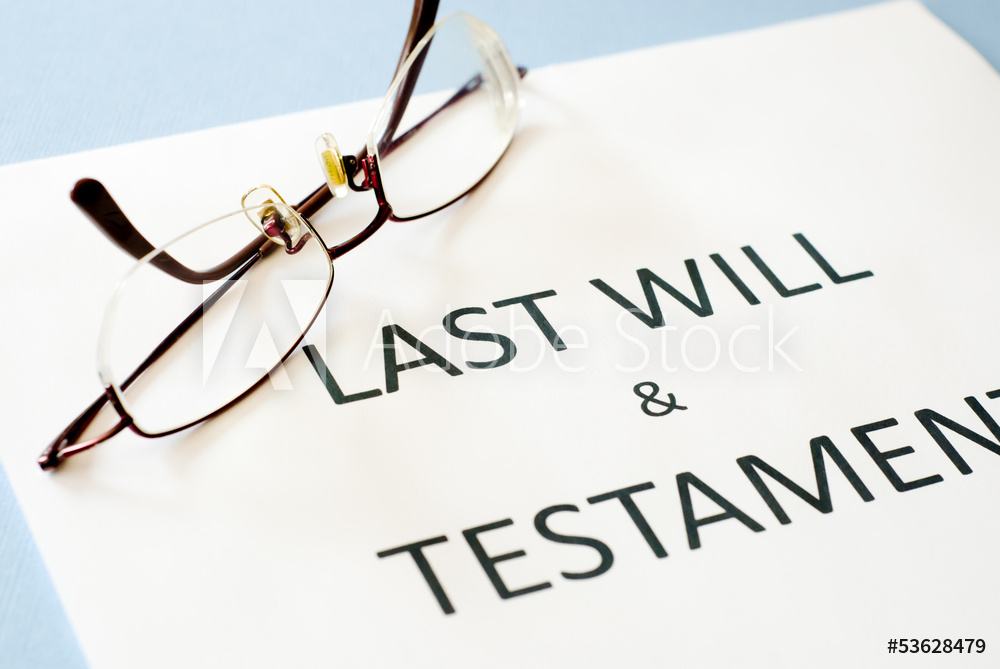 What to do with your will