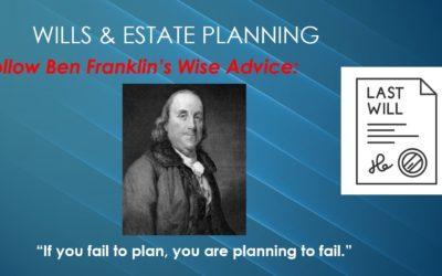 Wills & Estate Planning: Our 20 Minute Webinar